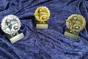 3 Kleine Pokale